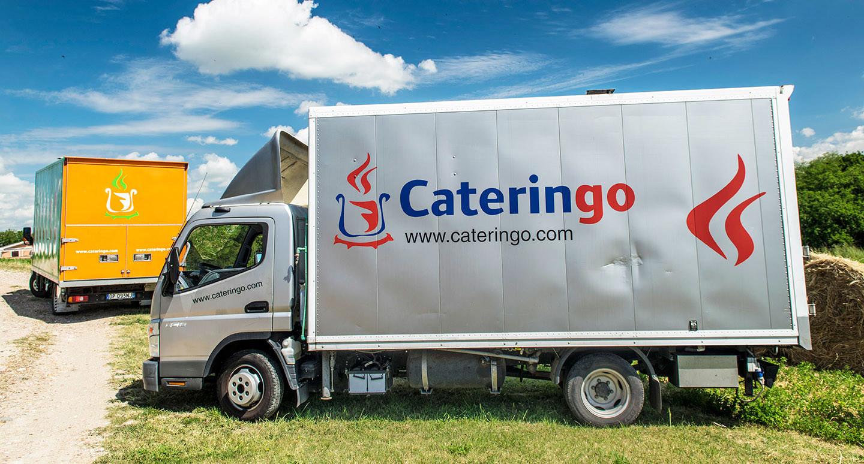 Cateringo | Camion Cucina Grigio Chiaro Cateringo